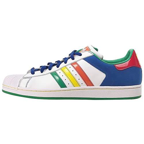 Adidas Superstar 2 CB Men's Sneakers Size US 8.5, Regular Width, Color White/Multicolour