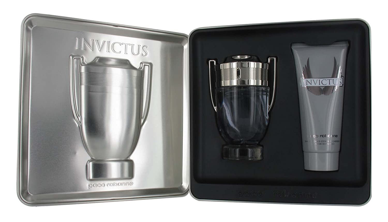 Amazon.com : Paco Rabanne Invictus 2 Piece Gift Set for Men (Eau ...