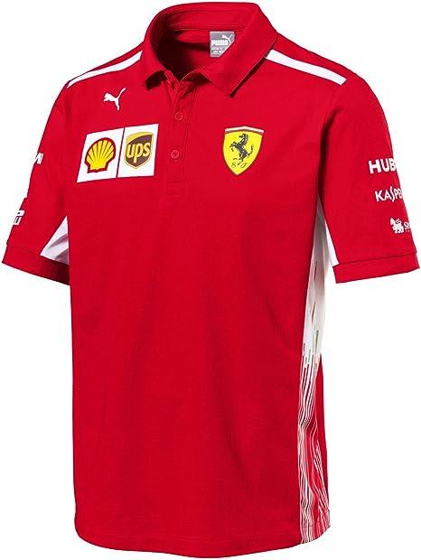 Polo oficial del equipo de Fórmula 1 de la escudería Ferrari de ...
