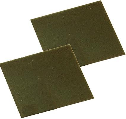 Amazon com: Casting Wax Sheet Gauge 14 Green Firm