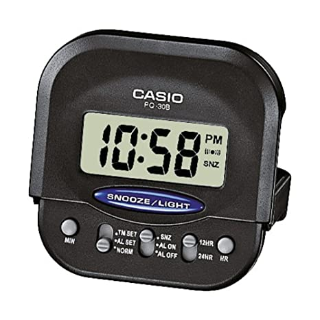 Casio Collection PQ-30B-1EF, Reloj, Negro