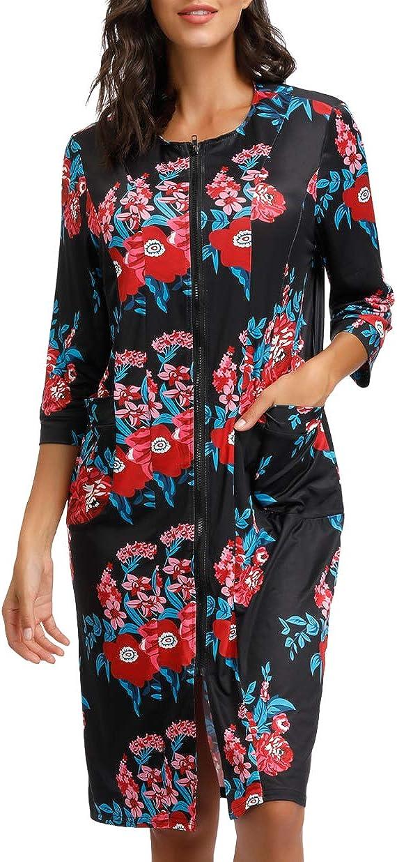 Women Kimono Robes With...