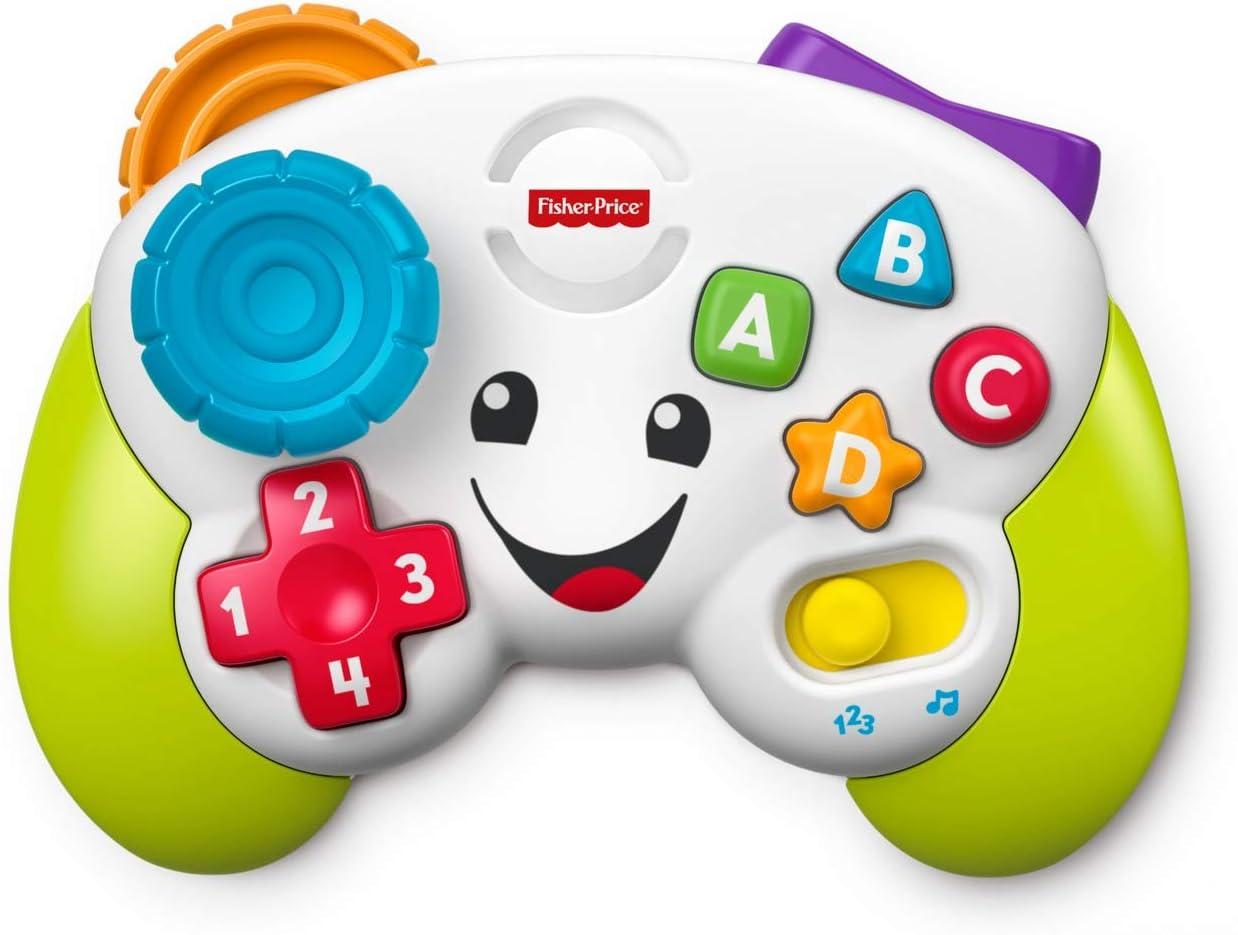Fisher-Price Mi primer mando de consola, juguete de aprendizaje ...