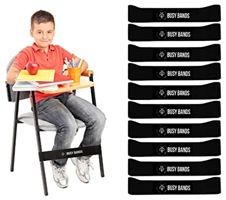 Sensational Busy Bands Chair Bands For Kids With Fidgety Feet Fidget Bands For School Classroom Chairs Ideal For Adhd Autism Hyperactivity Size 20 X 2 Inzonedesignstudio Interior Chair Design Inzonedesignstudiocom