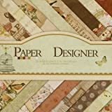 Vishal Pattern Design Printed Papers for Art & Craft, DIY Cardmaking& Scrapbooking (Set of 40 Sheets) (VS8006)
