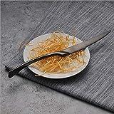 Black Cutlery Set Top Quality Stainless Steel Western Food Tableware Fork Steak Knife Dinnerware 04 Steak knife