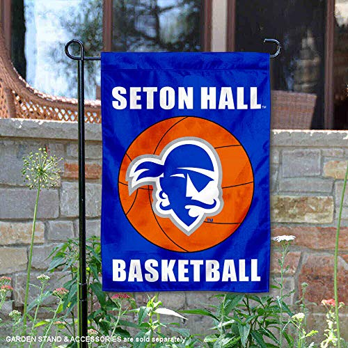 College Flags and Banners Co. Seton Hall Pirates Basketball Garden Flag