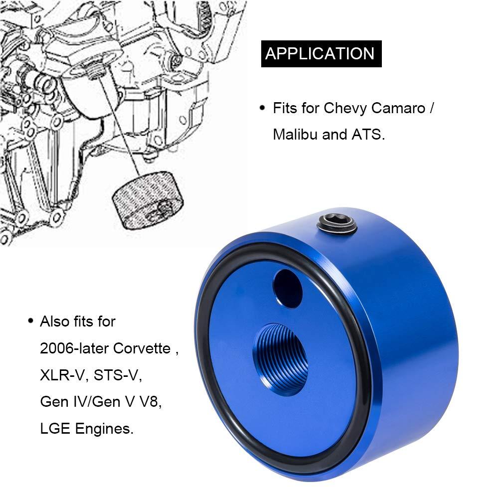 5.3L 5.7L 7219 Oil Pressure Adapter for GM 4.8L Similar to J-42907 /& EN-47971 Oil Pressure Gauge Adapter for Generation IV /& V V8 Engines 1996-2006 6.0L Engines