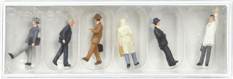 Preiser 10506 Passengers Seated Package 6 HO Model Figure