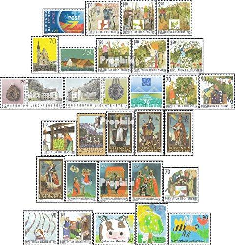 Winemakers Collection - Liechtenstein 1310-1338 (complete.issue.) Volume 2003 completeett 2003 Störche, winemAker, nothelfer u.A. (Stamps for collectors)