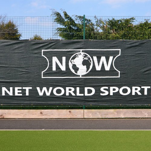 Tennis Court Windscreen/Privacy Screen - 60' x 6.5' [Superior Finish] [Net World Sports]