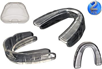 Adult Mouth Piece Guard Clear /& Color Cases Martial Arts,MMA,Boxing /& Taekwondo