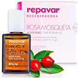 Repavar Regeneradora - Aceite 100% Puro Rosa Mosqueta R. rubiginosa, Alta Capacidad Regeneradora, Repara Profundamente…
