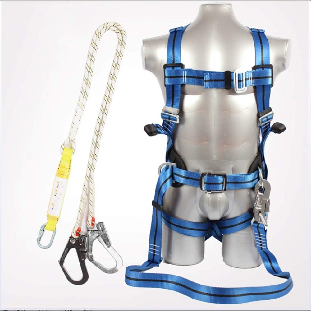 ZLQF Arnés Anticaidas (arnés y Cuerda de Sujeción) para ...