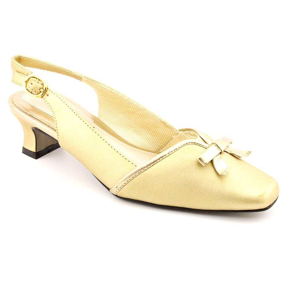 Easy Street Women's Mercury Wedge Pump B002YOEOUC 12 C/D US|Gold