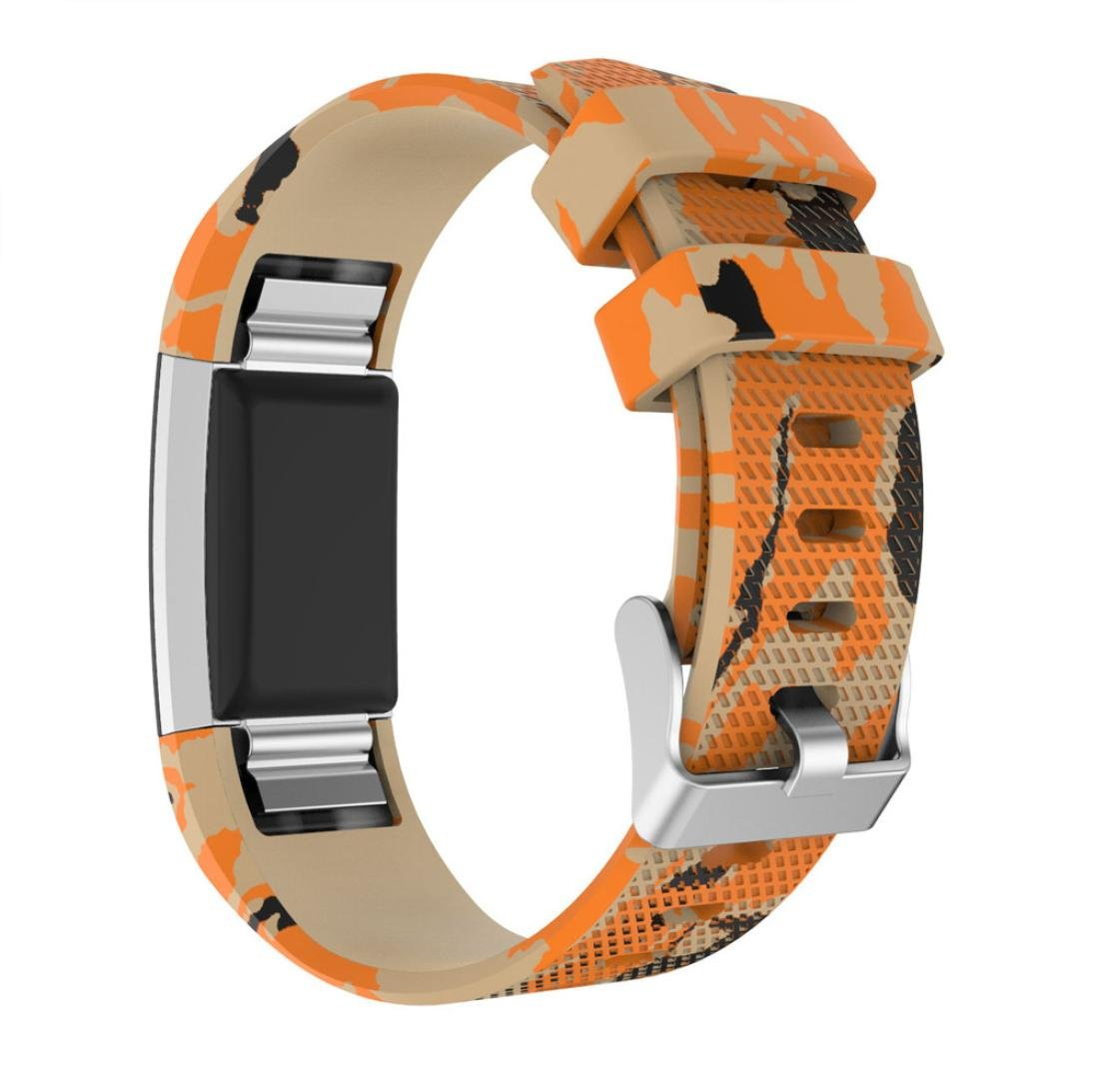 TAOtTAO Sport Silicone Replacement Wristband Wrist Strap For Fitbit Charge 2