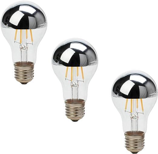 Ranpo - Bombilla LED de filamento vintage con forma de globo de ...