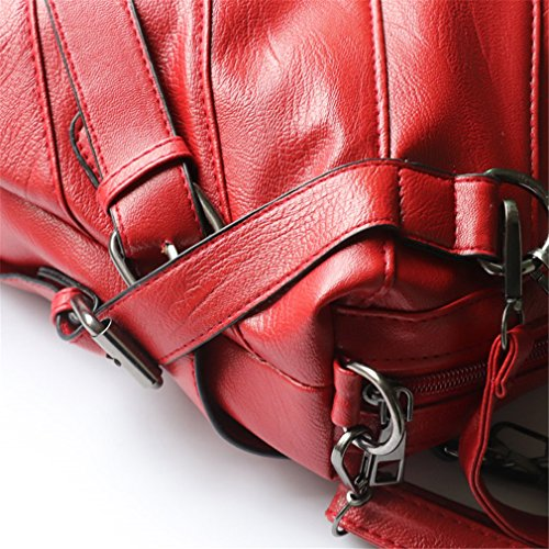 Ladies Red Bag Handbag BagsWomen Tote Shoulder Bags Handbags Leather Women xTwC0qAZ