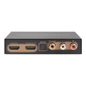 HDR HDMI Audio Extractor (configuración de 4K@60Hz/UHD/HDCP2.2