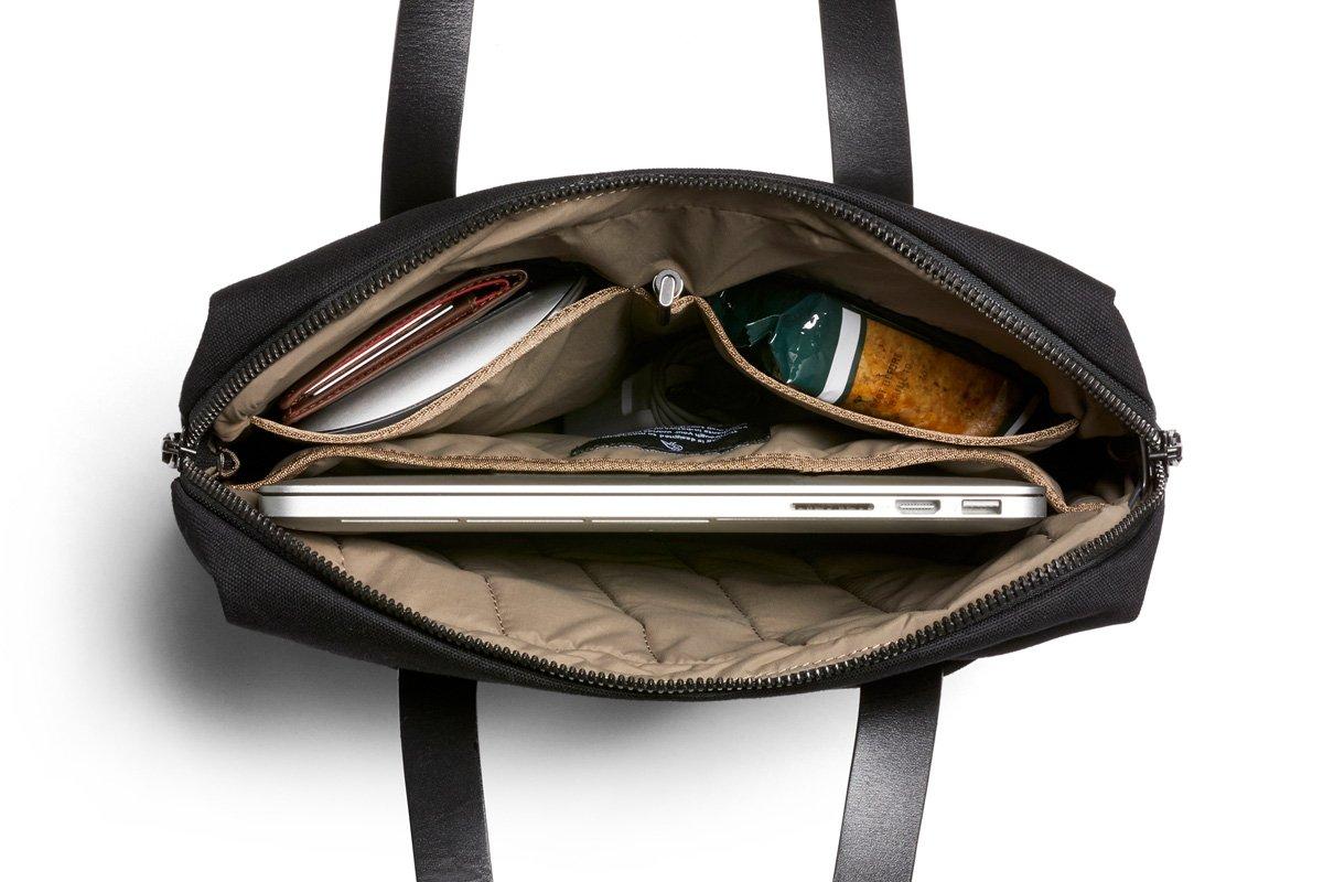 Bellroy Slim Work Tote (13 liters, 15'' laptop)-Black by Bellroy (Image #3)