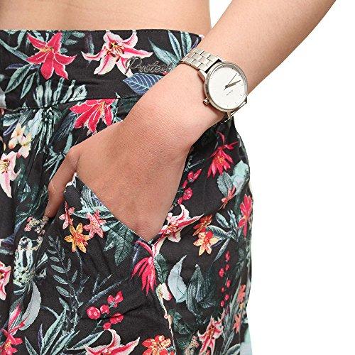 Protest Hally-Pantalón corto para mujer, diseño de Black True FR: 38 (del fabricante: M talla 38/)