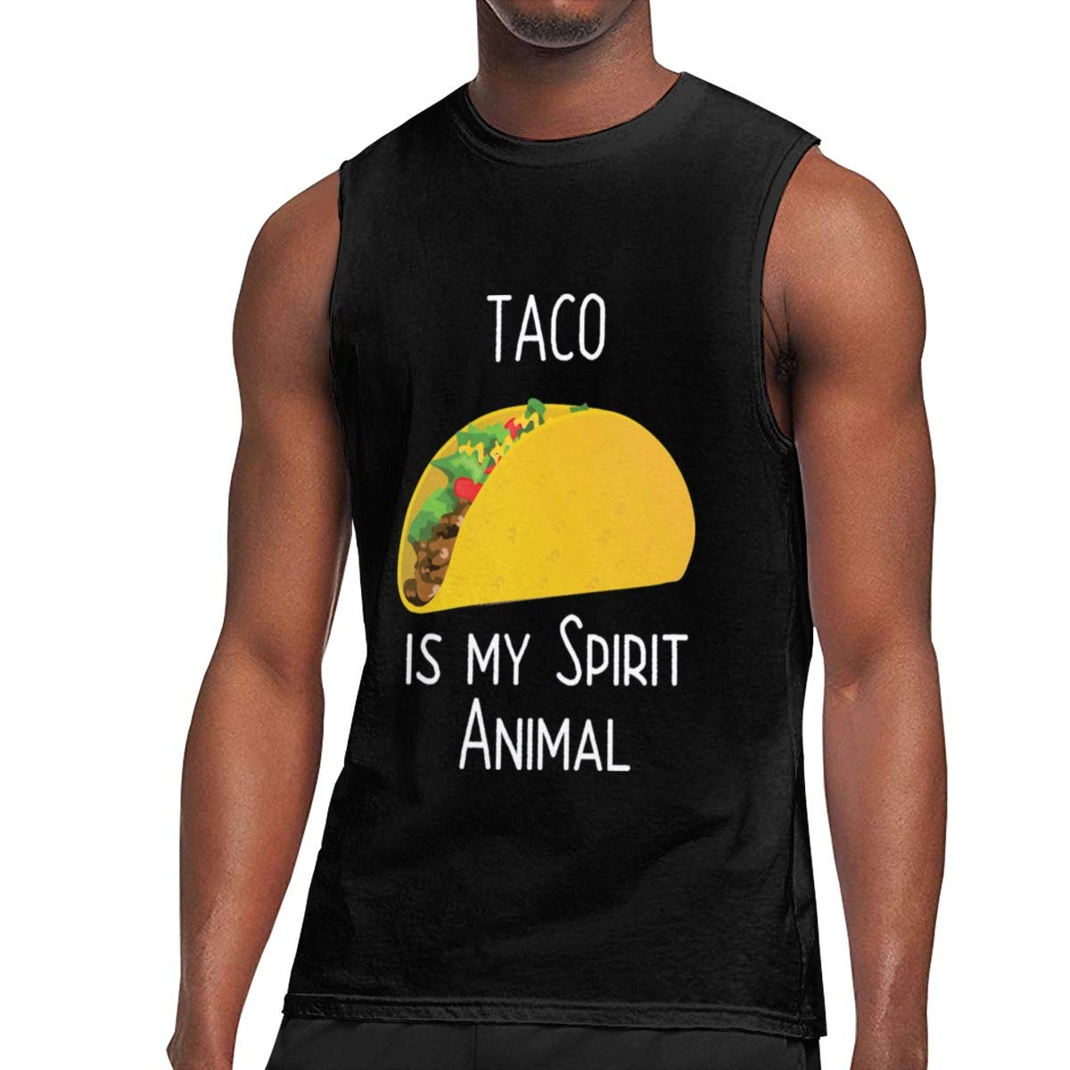 Seuriamin Taco Is My Spirit Animal S Ultra Soft Outdoor Sleeveless Muscle Short Sleeve T S
