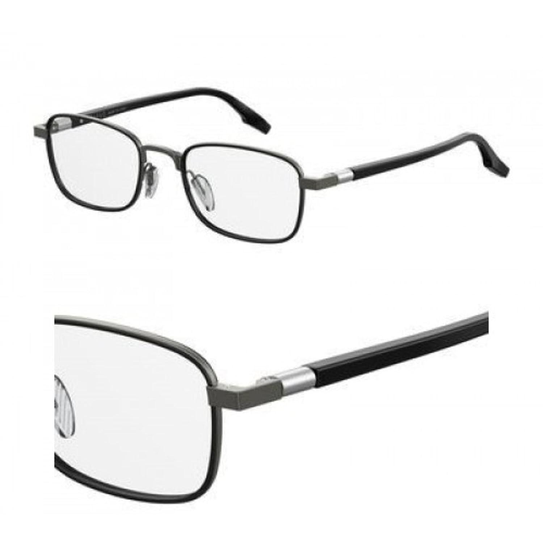 NEW SAFILO Eyeglasses SAGOMA 01 05MO Dark Rust Black Chrome