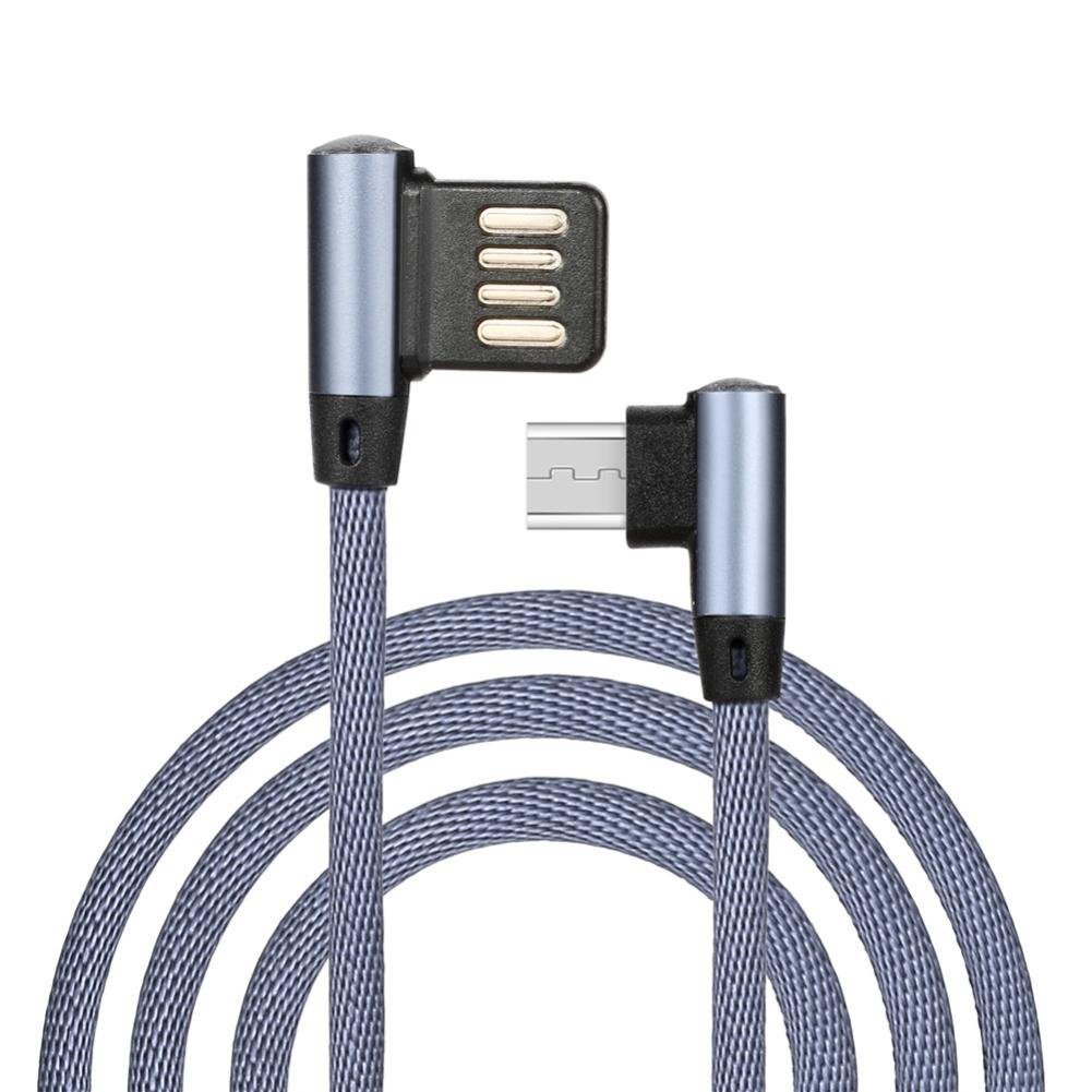 Charger USB Cable,UMFun Micro USB Charger Sync Data Cable Cord Data Line For Cell Phone Lightgreen (Gray)