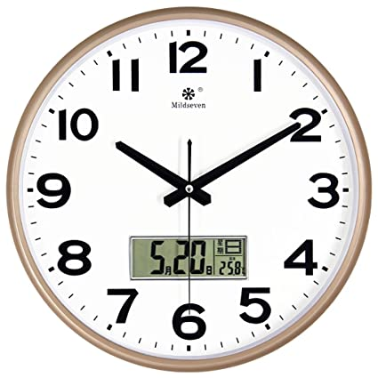 Large office wall clocks Kitchen Wall Clock Bell Watch Wall Clocks For Living Room Office Large Wall Clocks Bedroom Large Kitchen Big Wall Clocks Modern Wall Clocks For Living Room Pendulum Amazoncom Amazoncom Wall Clock Bell Watch Wall Clocks For Living Room Office