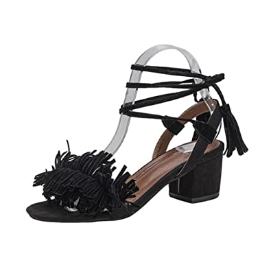 deeac2b6eb8425 Lolittas Mid Block Heels Sandals for Women Ladies