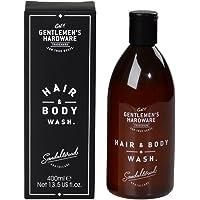 Gentlemen' s Hardware da uomo, capelli e lavare il corpo–nero