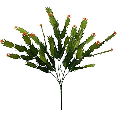 Christmas Greenery Centerpieces.Christmas Cactus Many Colors Greenery Centerpieces Silk Flowers Home Office