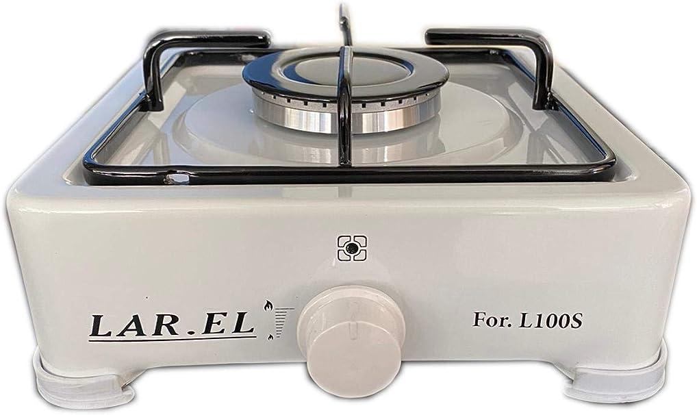 Larel - Hornillo de camping con 1 fuego, multi gas GLP o ...