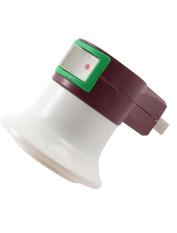 Bulbo nos enchufe E27 Luz 4pcs adaptador titular casquillo de la lámpara Base - - Amazon.com