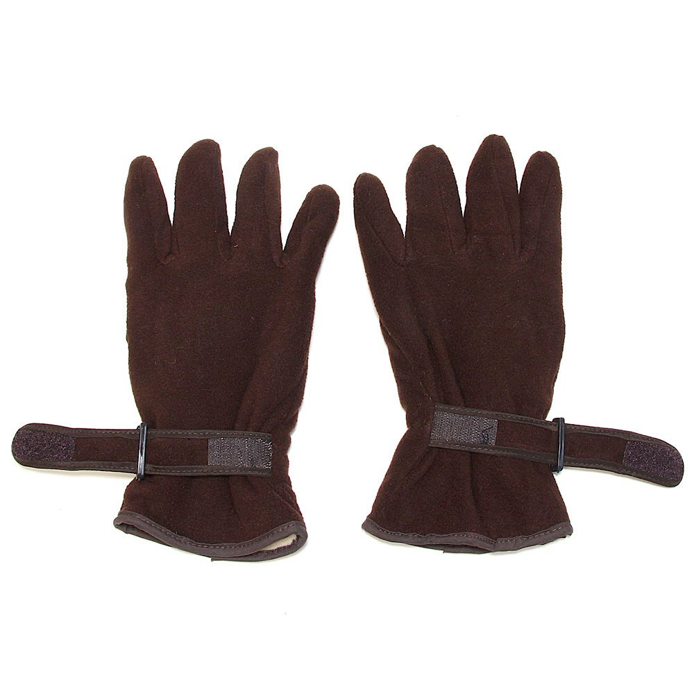 Large Falari Mens Glove Polyester Fleece Extra Warm For Cold Weather One Size