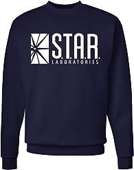 201653ac3 Superior Apparel Star Labs Adult Crewneck Sweatshirt