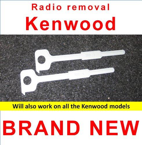 Car Radio Removal Keys - Xtenzi Kenwood Car Stereo/Radio Removal Keys/Tools NEW