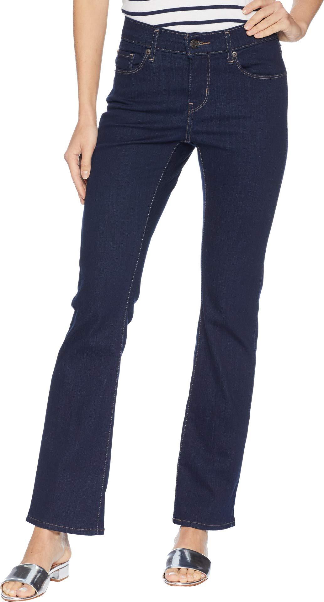 Levi's Women's Curvy Bootcut Jeans, Smooth Dark