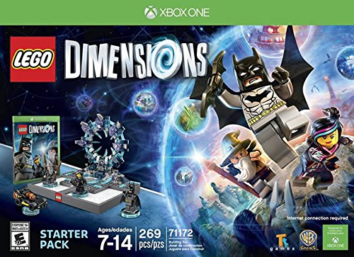 LEGO Dimensions Starter Pack - Xbox One (Best Wii Games For 7 Year Old Boy)