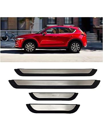AniFM Auto Styling Edelstahl Einstiegsleisten Verschleissplatte Autozubeh/ör F/ür Opel Vectra B
