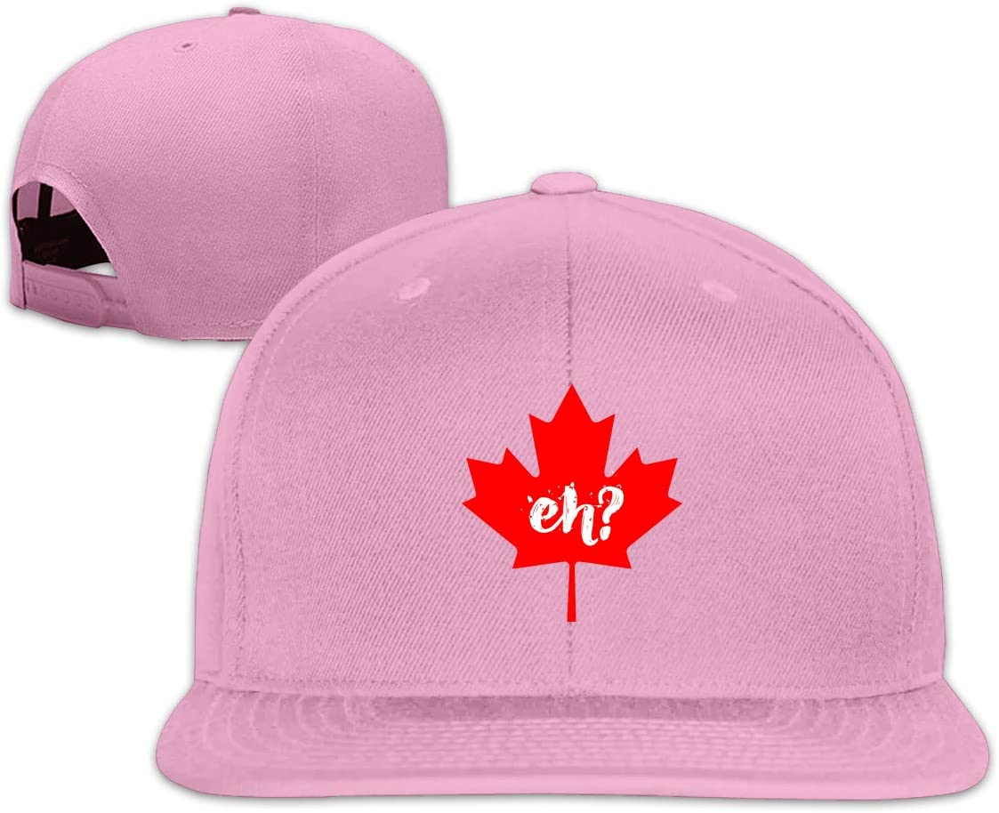 MOCSTONE Unisex Snapback Hat Eh Canada Maple Adjustable Baseball Cap