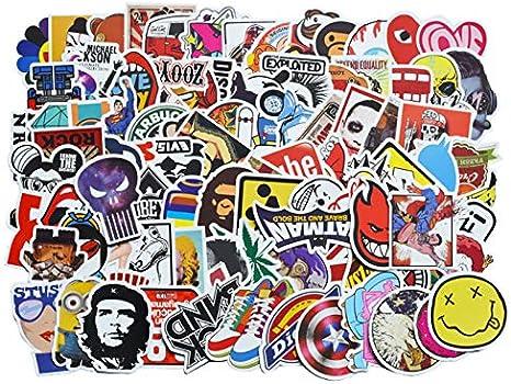 100 unids/pack Clásico Pegatinas de Graffiti de Moda Para Moto ...