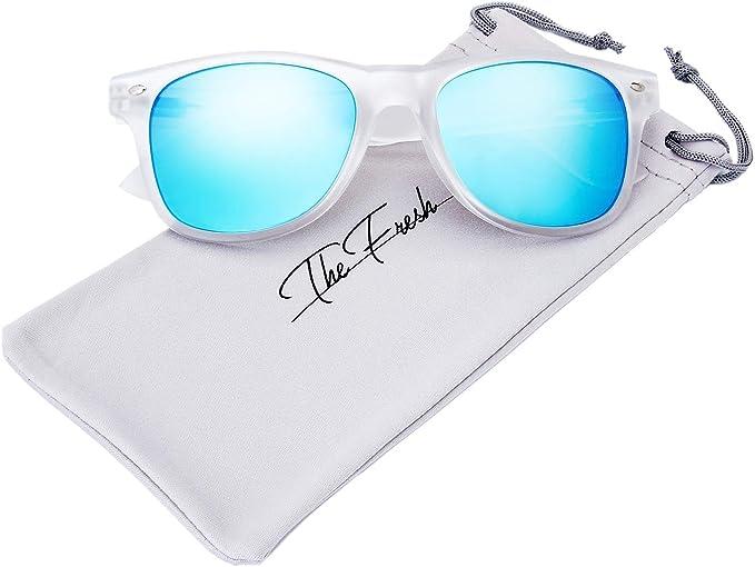 Amazon.com: The Fresh - Gafas de sol con montura esmerilada ...