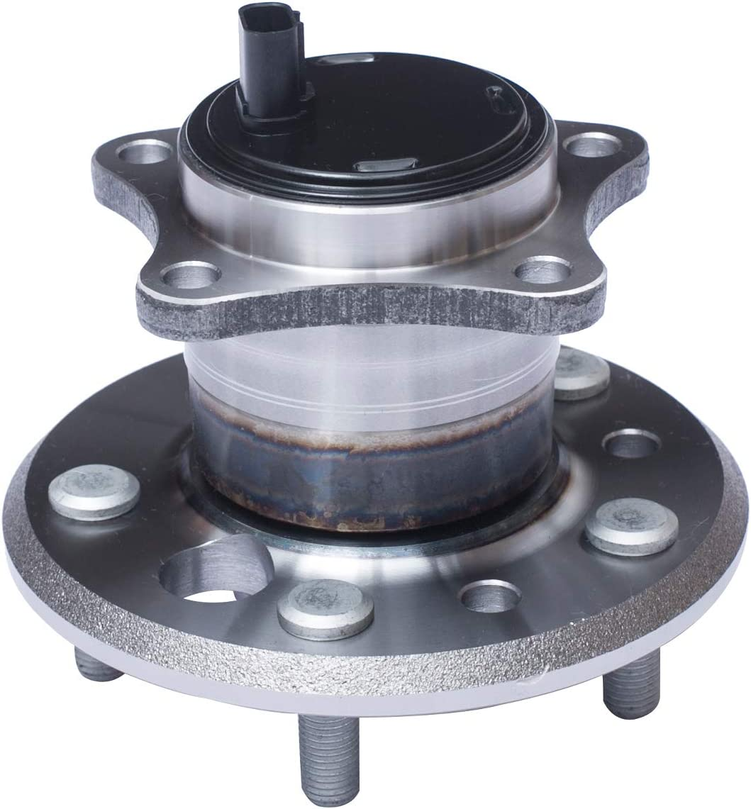 FWD Models Highlander 5 Lug W//ABS TUCAREST 512207 Rear Right Wheel Bearing and Hub Assembly Compatible With Lexus ES300 ES330 ES350 Toyota Camry Avalon Solara 4-Wheel ABS Models Only