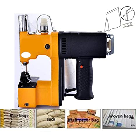 Máquina de embalaje de cierre de bolsas Máquina de coser ...