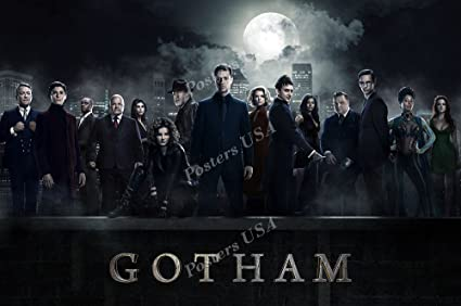 Amazoncom Posters Usa Gotham Tv Series Show Poster Glossy Finish