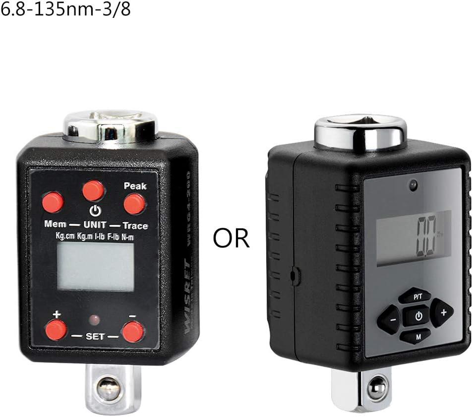 noir Luluspace Adaptateur dynamom/étrique num/érique 1,5-1000 nm 1//4 3//8 1//2 3//4 Microtorque