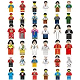 Mini Figures Set-36 Piece Minifigures Set of Professions, Building Bricks of Community People from Different Industries Complete, Building Blocks Kids Educational Toy Gift (36 pieces)