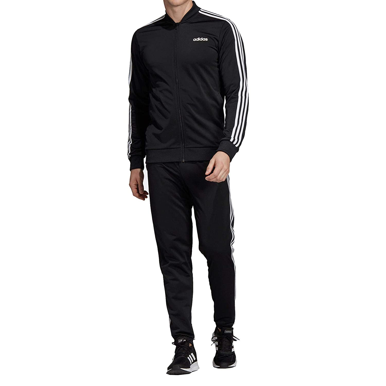 noir noir blanc FR   3XL (Taille Fabricant   3XL) adidas MTS B2bas 3s C SurvêteHommest Homme
