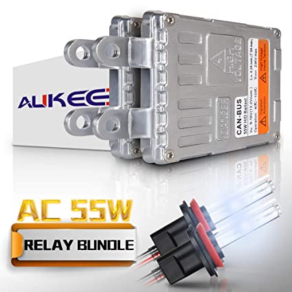 Amazon Com Aukee 55w H11 H8 H9 Hid Xenon Headlight Conversion Kit